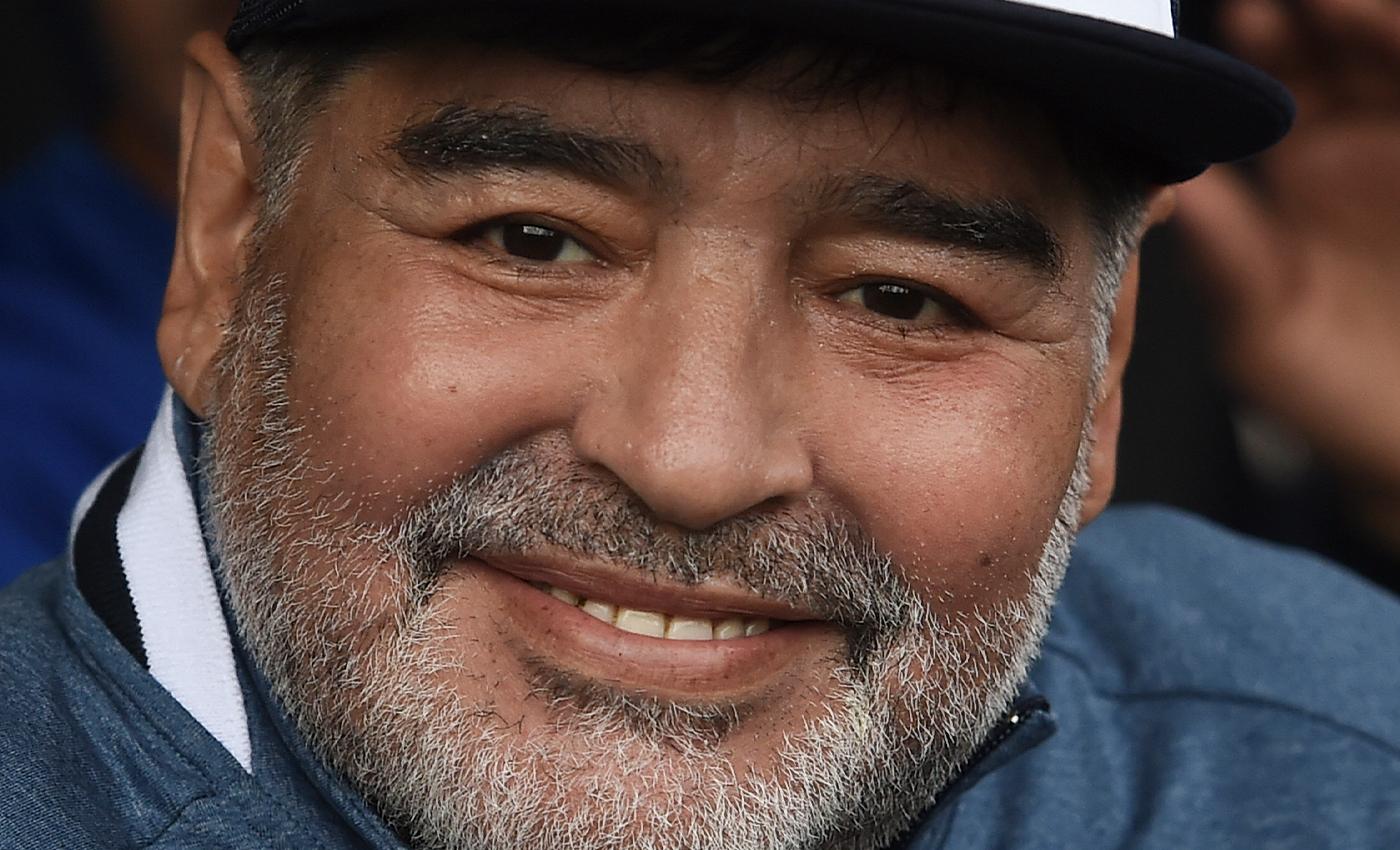Diego Maradona visited the Sreebhumi Durga Puja pandal in Kolkata.