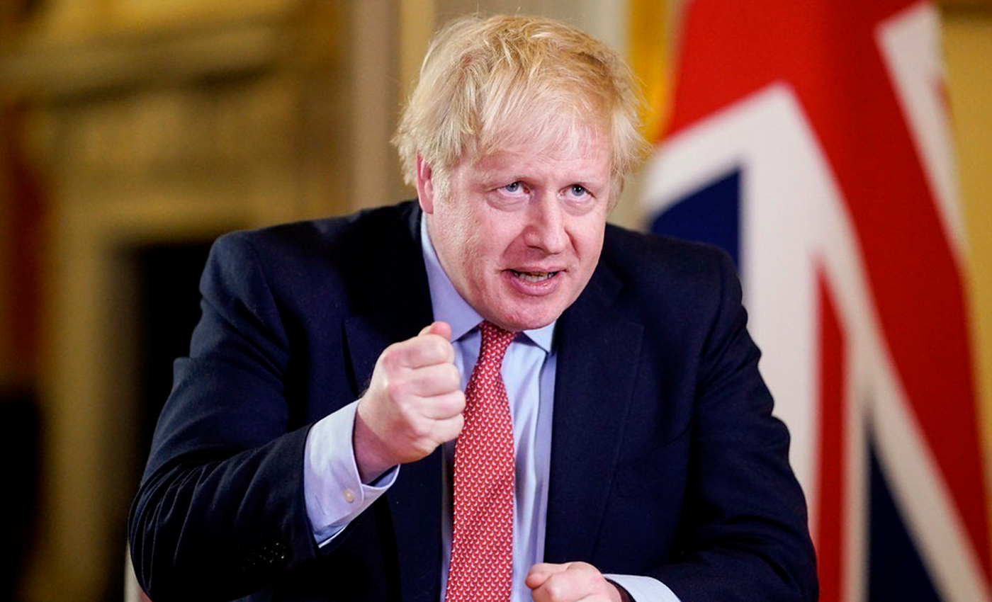 Boris Johnson announces a ban on petrol and diesel cars from 2030.