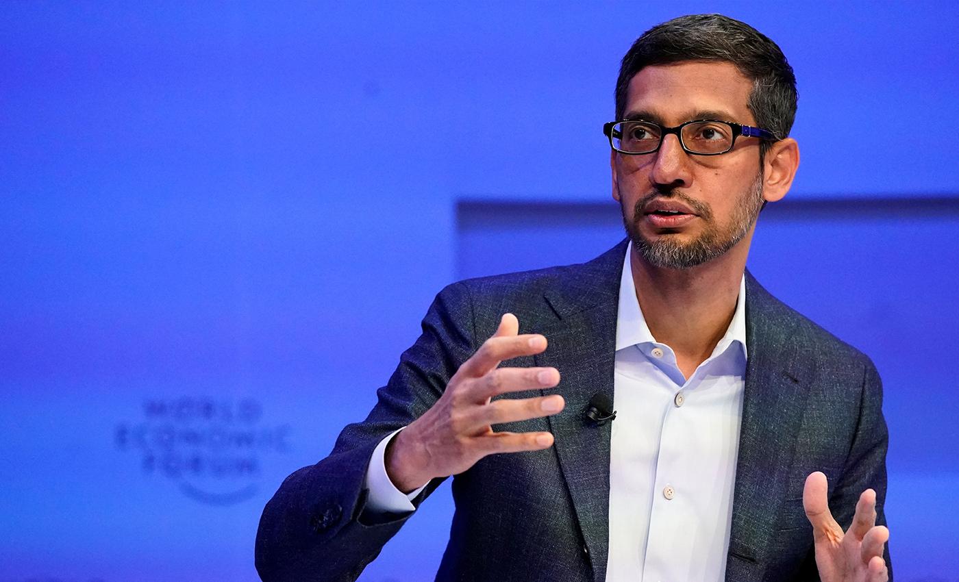 Google CEO Sundar Pichai visited his high school maths teacher.