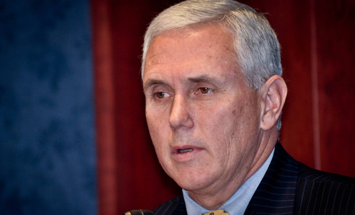 Vice President Mike Pence was arrested when the Capitol Building was stormed.