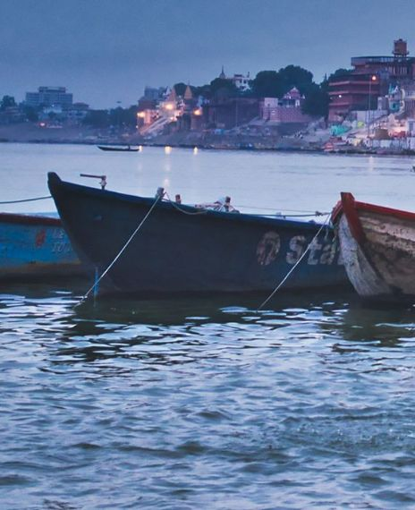 A woman in Uttar Pradesh threw her five children into river Ganga as she had no food to feed them.