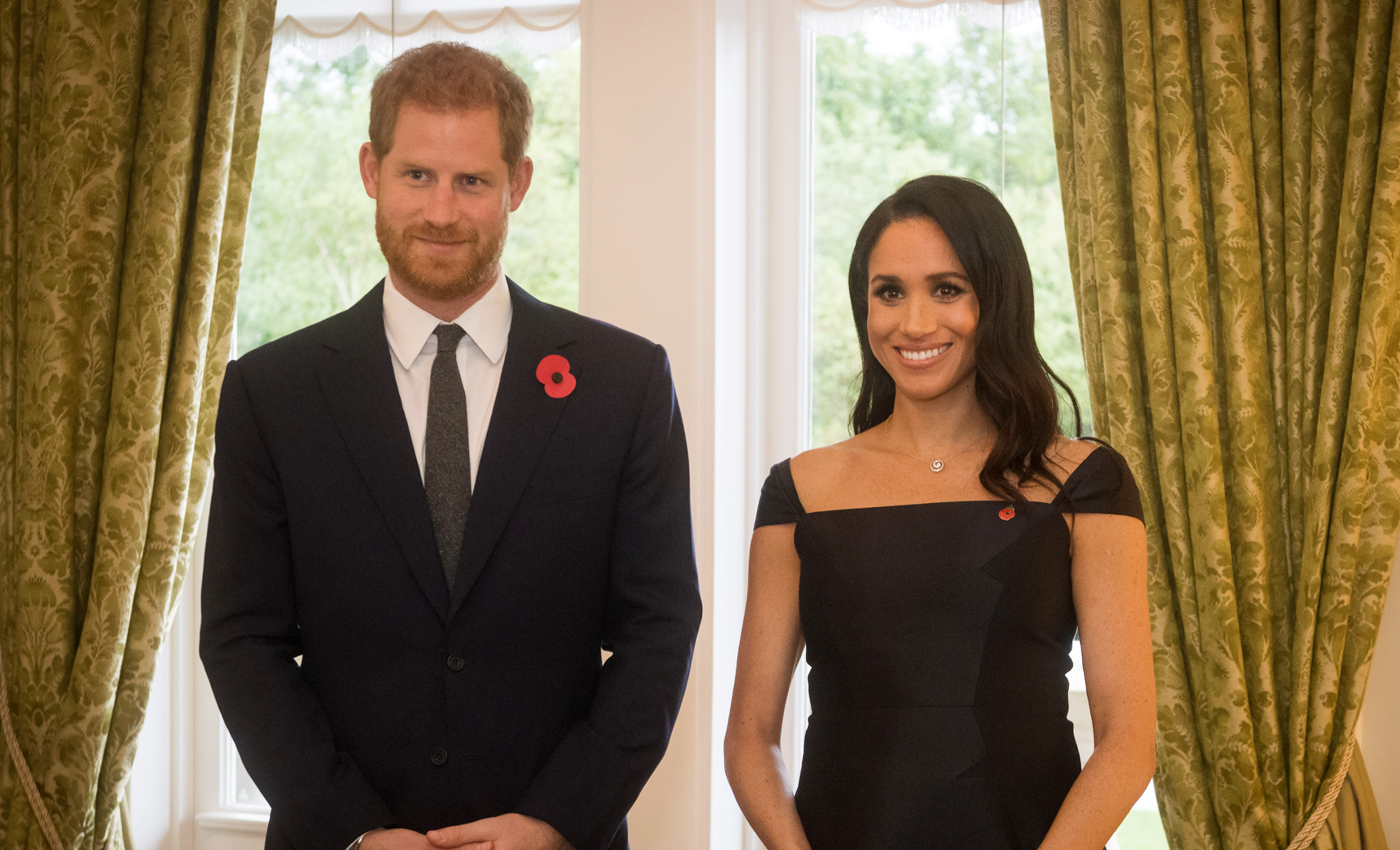 Prince Harry and Duchess Meghan don't live together.