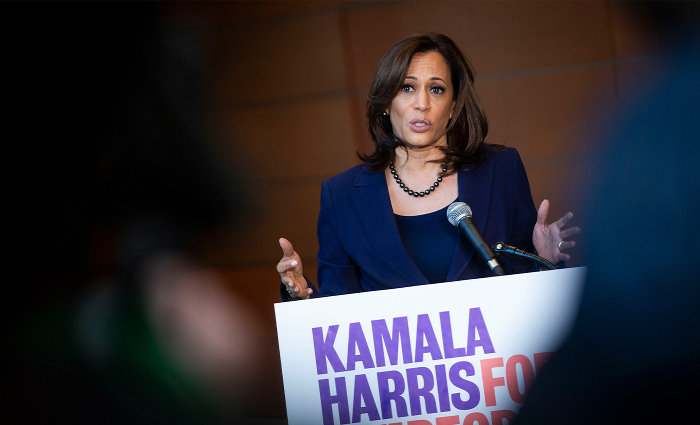 Kamala Harris supported the ICE targeting arrested undocumented juveniles in San Francisco.