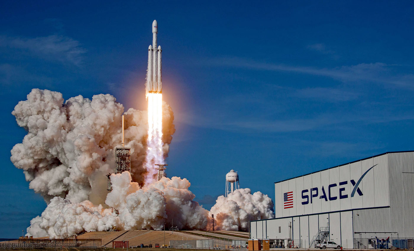 Trump administration built a six-million-pound rocket and launched it thousands of miles into space.