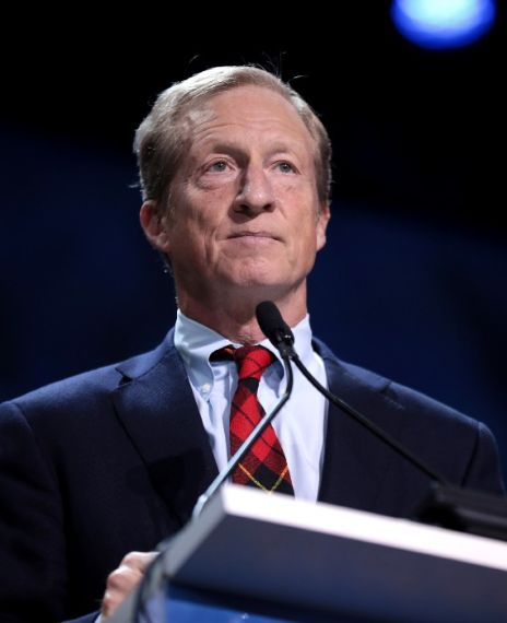 Tom Steyer has said that he was the only person at the 2020 South Carolina Democratic debate who believed in reparations for slavery.