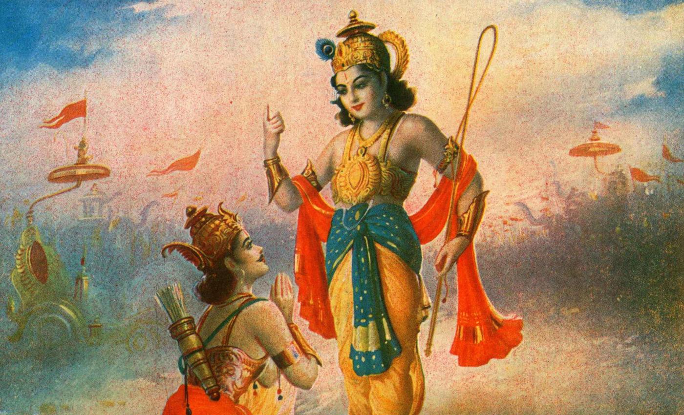The Modi government has made teaching the Bhagavad Gita and the Ramayana mandatory in madrasas.