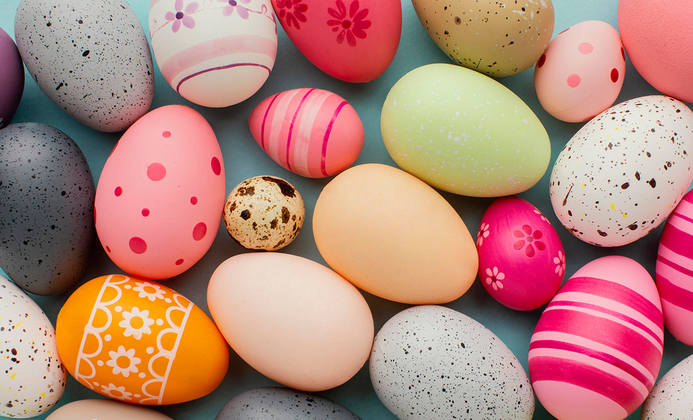The egg, an ancient symbol of new life, has been associated with many cultures celebrating spring.