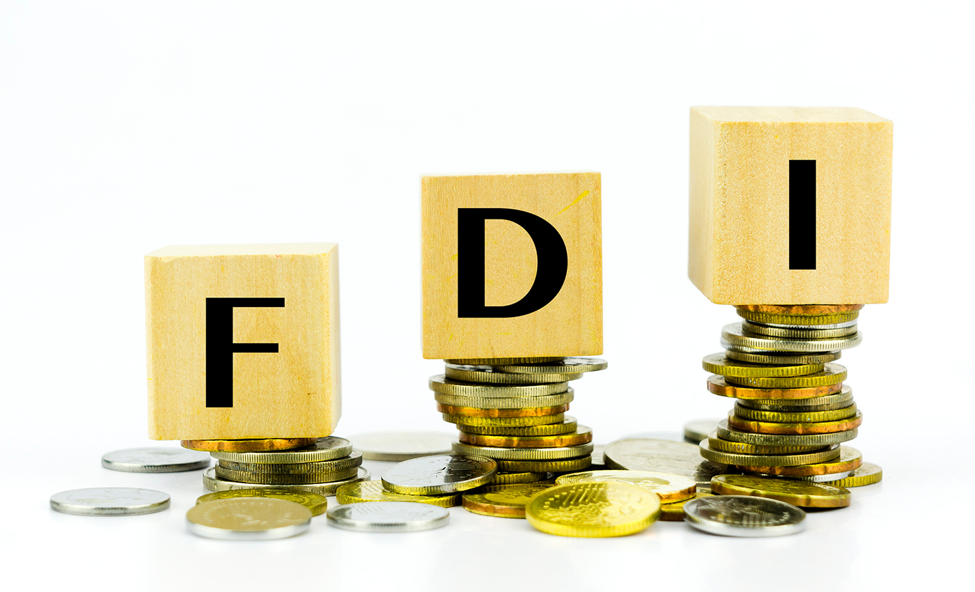 Between Oct 2019 to Sept 2020, WB occupied the 10th position out of all states in terms of total FDI inflow.