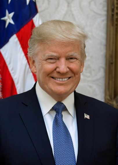 Donald Trump is the 54th President of The United States of America.