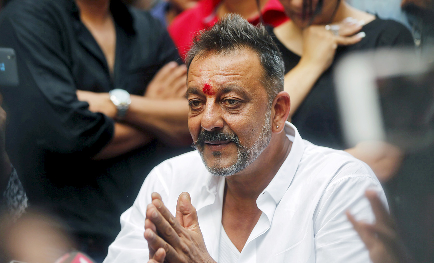 Actor Sanjay Dutt has been diagnosed with lung cancer.