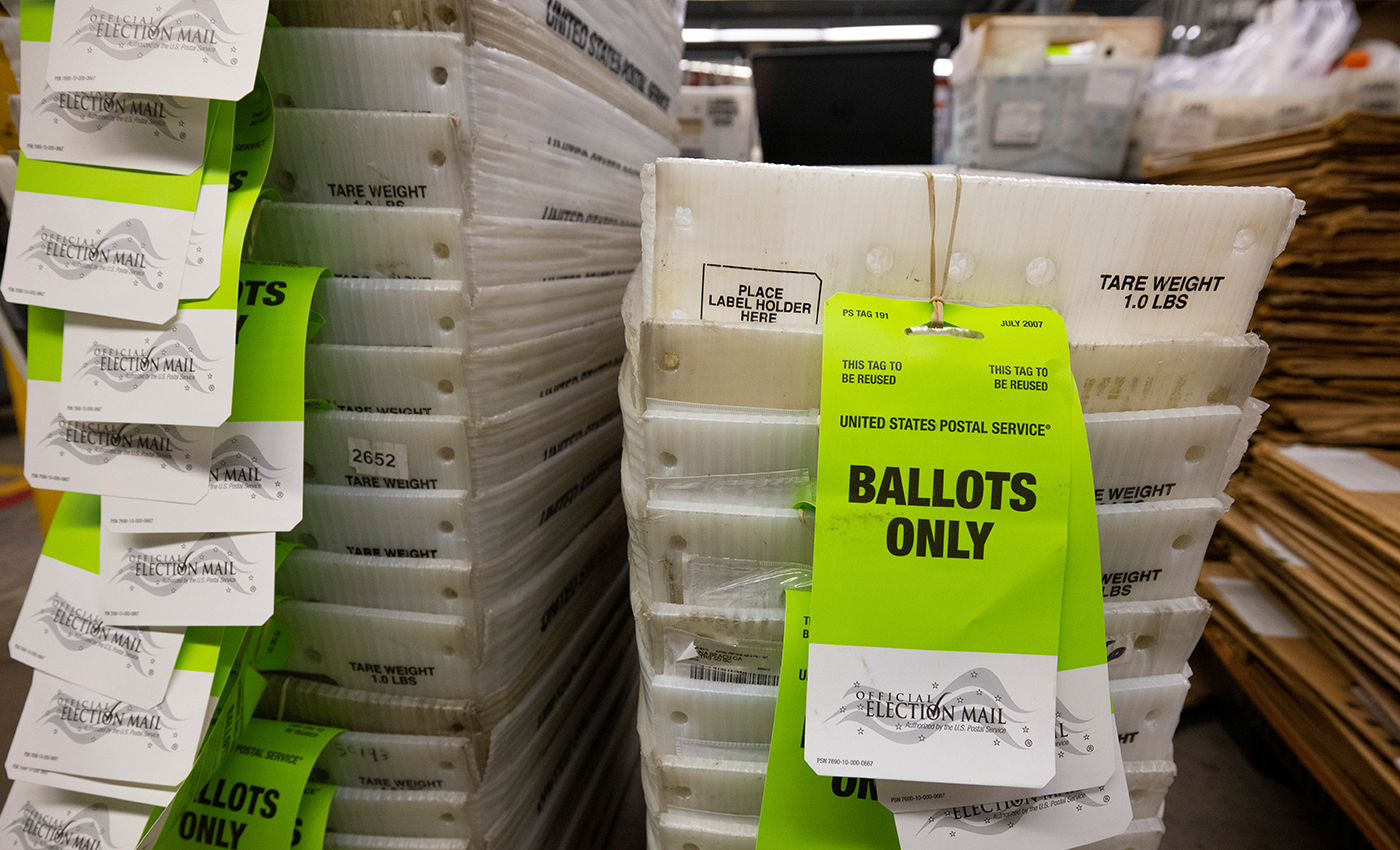During the Arizona audit of the 2020 Presidential election, 74,243 mail-in ballots were found with no record of them being sent.