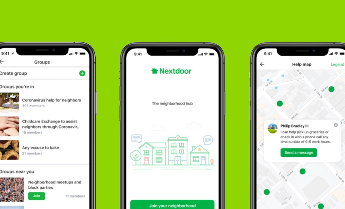 Nextdoor is aware of the racism on its platform.