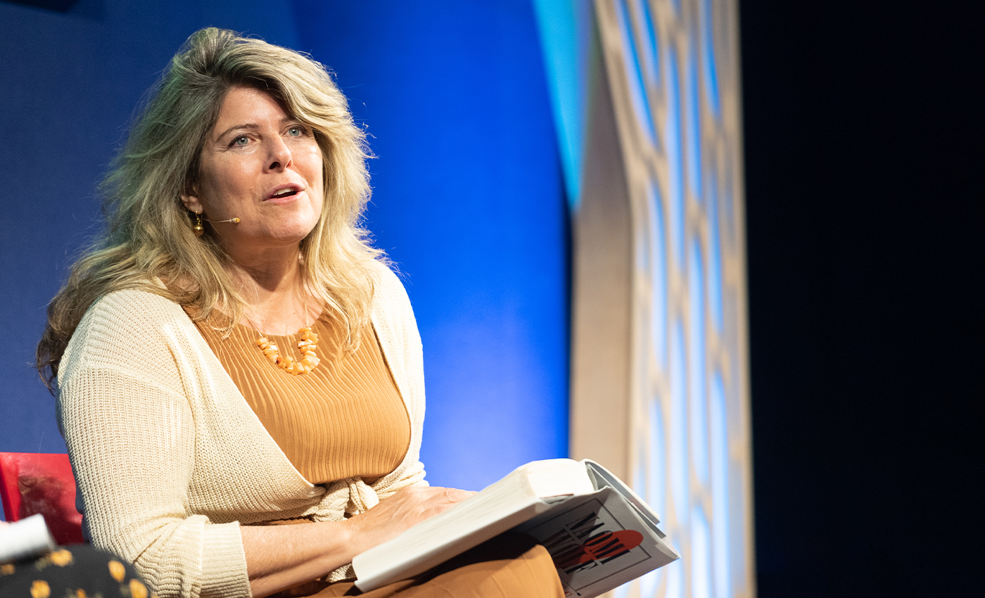 The American author Naomi Wolf is a medical doctor.