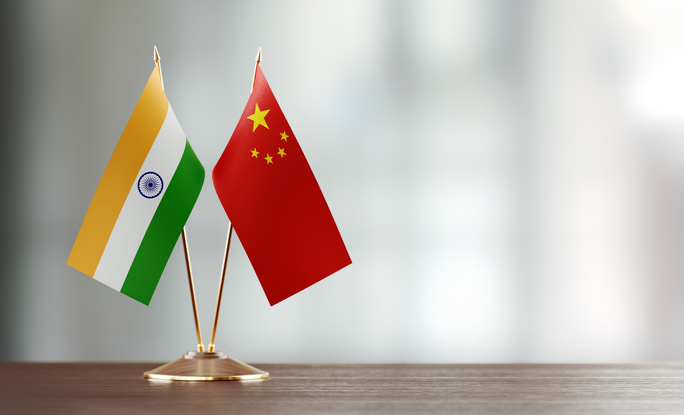 India and China are at war on the border.