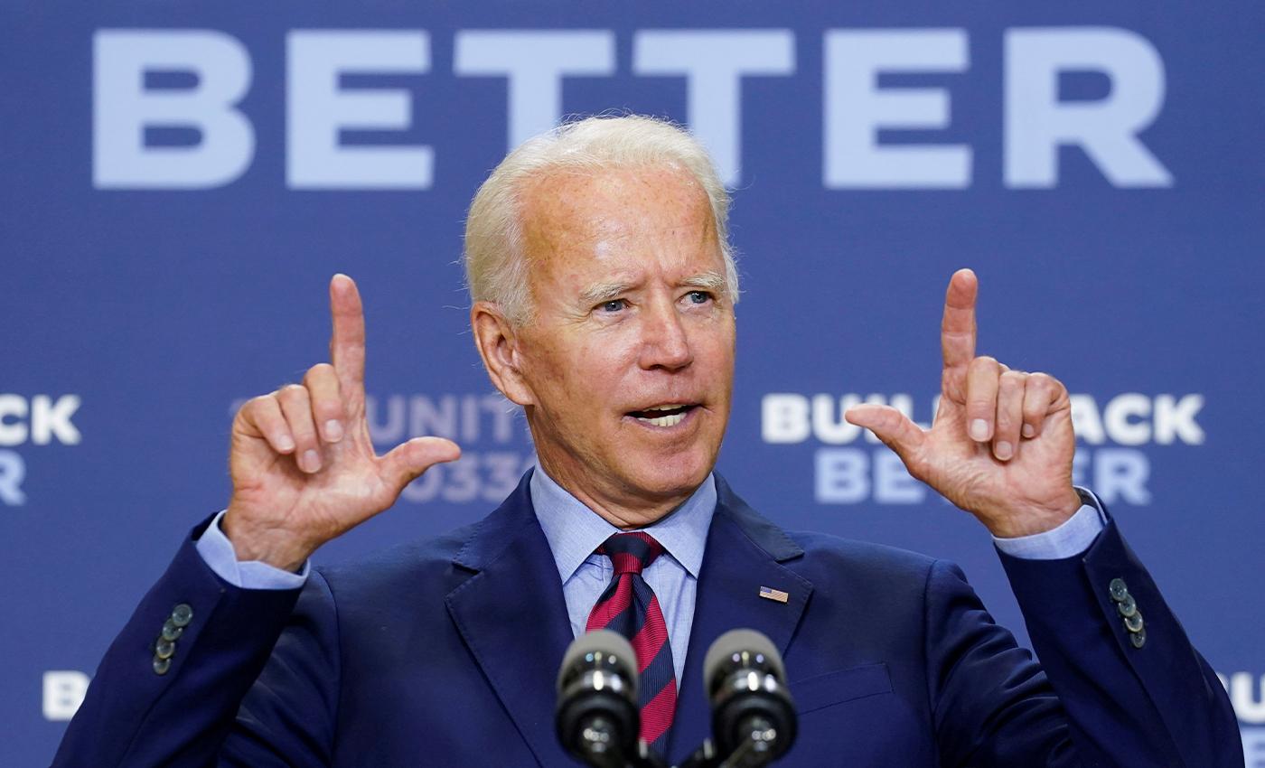 Joe Biden died from a heart attack six days ago.