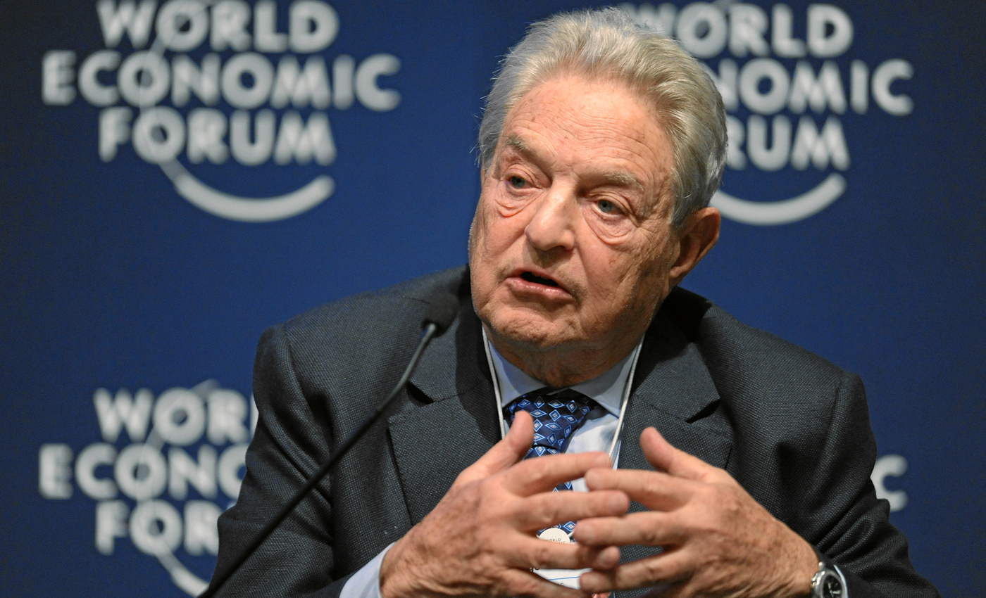 George Soros owns Cerberus Capital Management, the parent company of Freedom Group, a company that manufactures guns and ammunition.