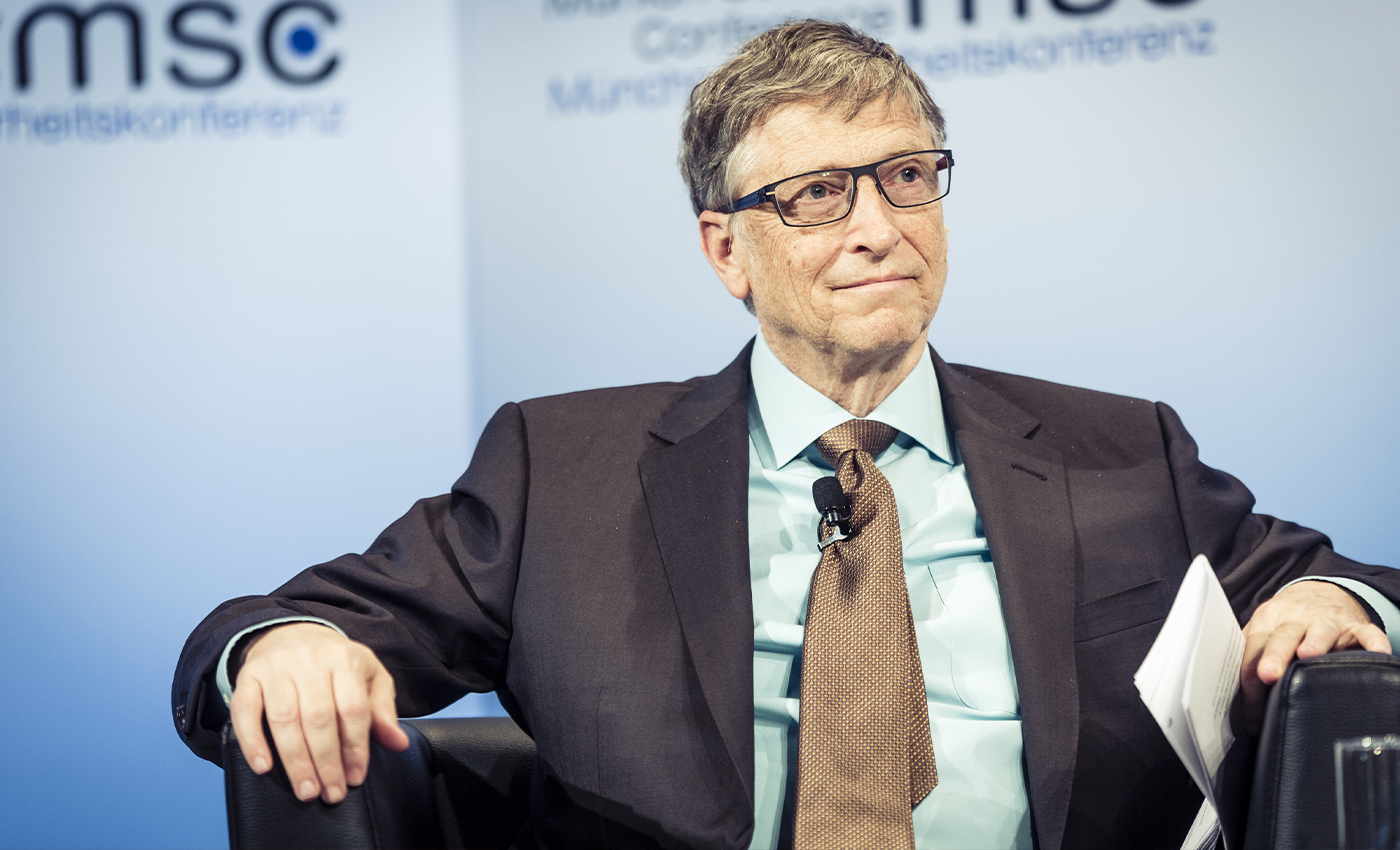 The U.S. military has arrested Bill Gates.