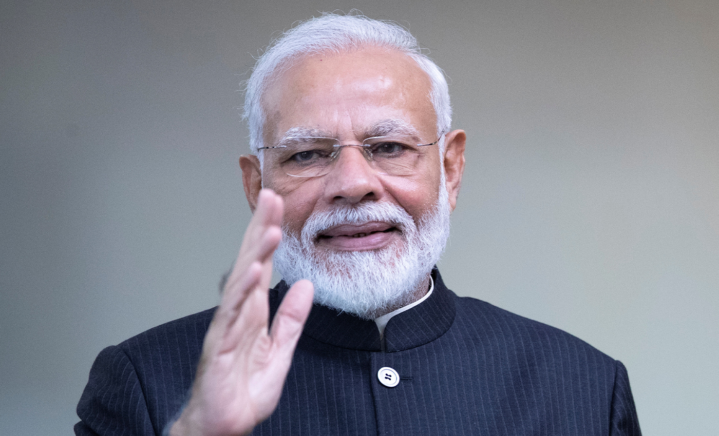 Narendra Modi is still a bachelor.