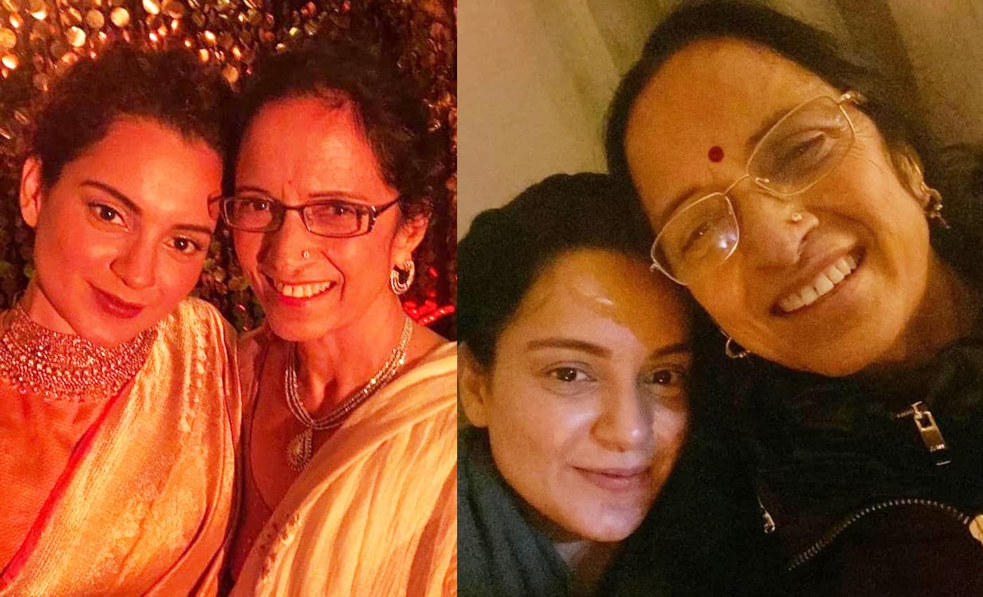 Kangana Ranaut's mother, Asha Ranaut has joined the BJP party.