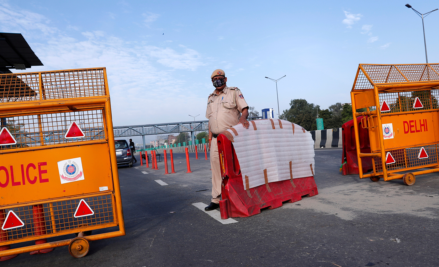 There is a 5-days lockdown in Puducherry.