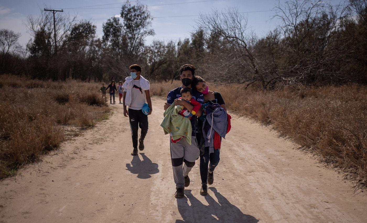 Migrants who test positive for COVID-19 are allowed to enter the U.S. via the southern border.