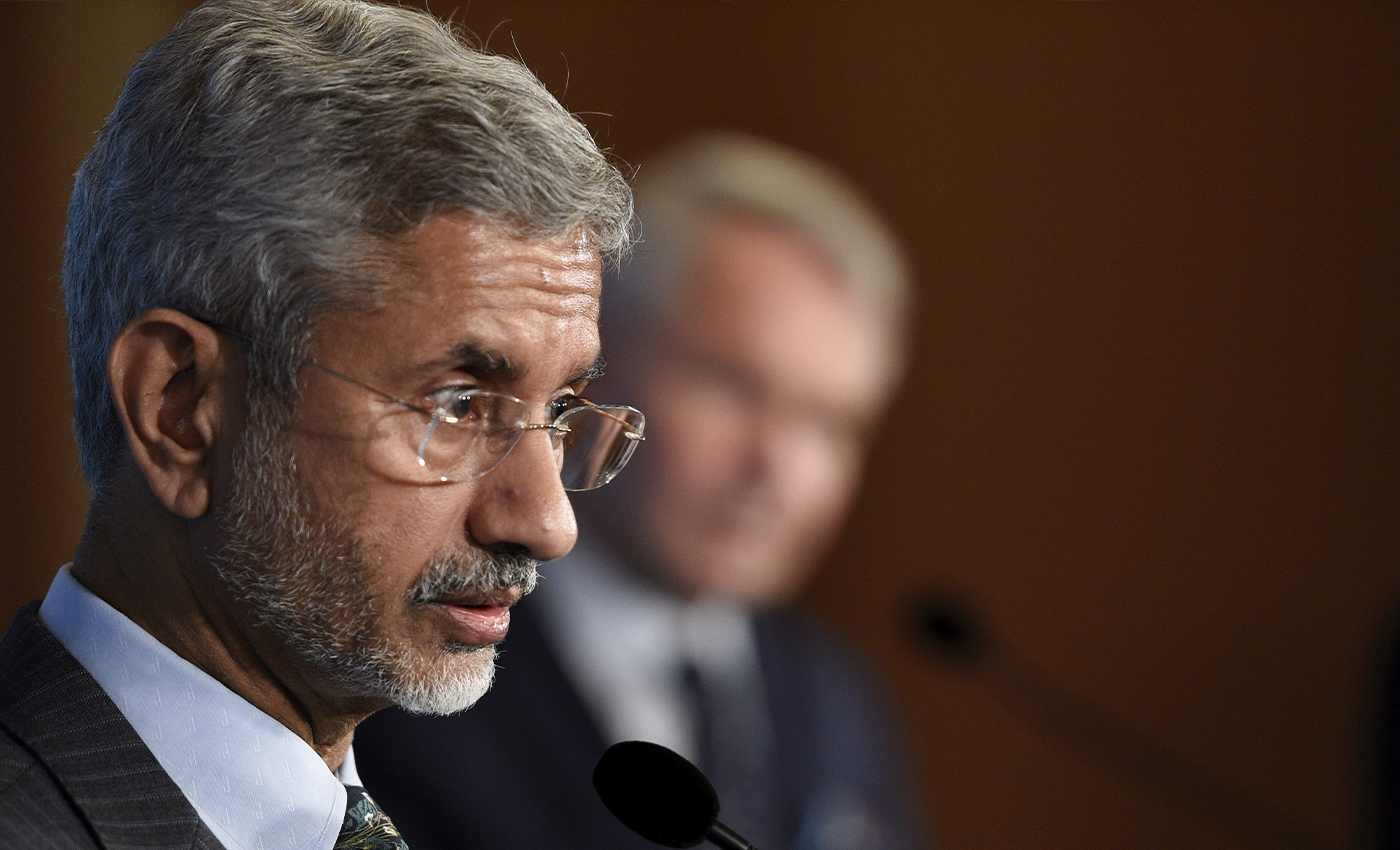 External Affairs Minister Jaishankar met with foreign delegates at G7 after two Indian delegates tested positive for COVID-19.