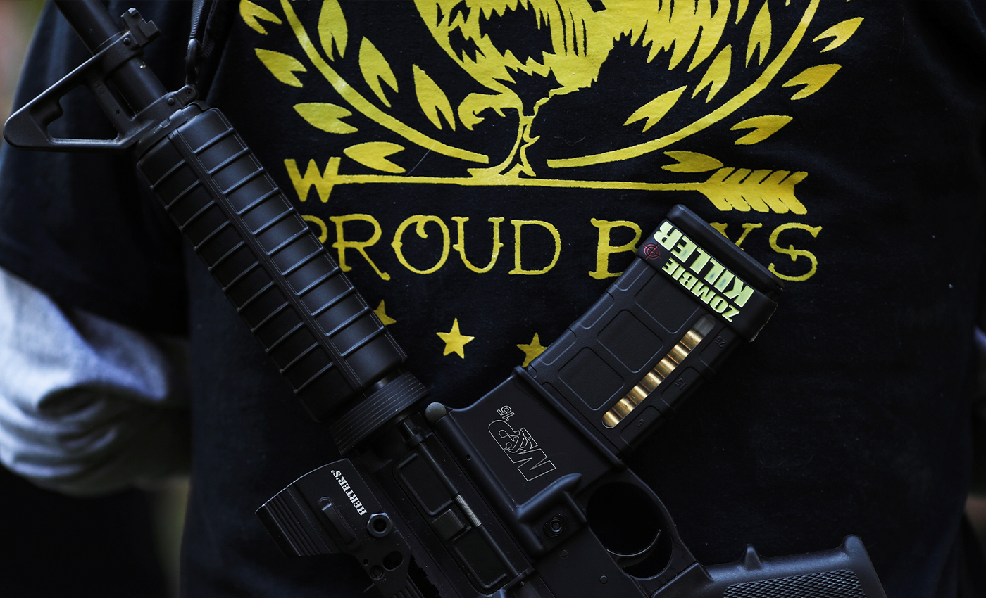 Canadian lawmakers voted unanimously to declare Proud Boys a terrorist group.