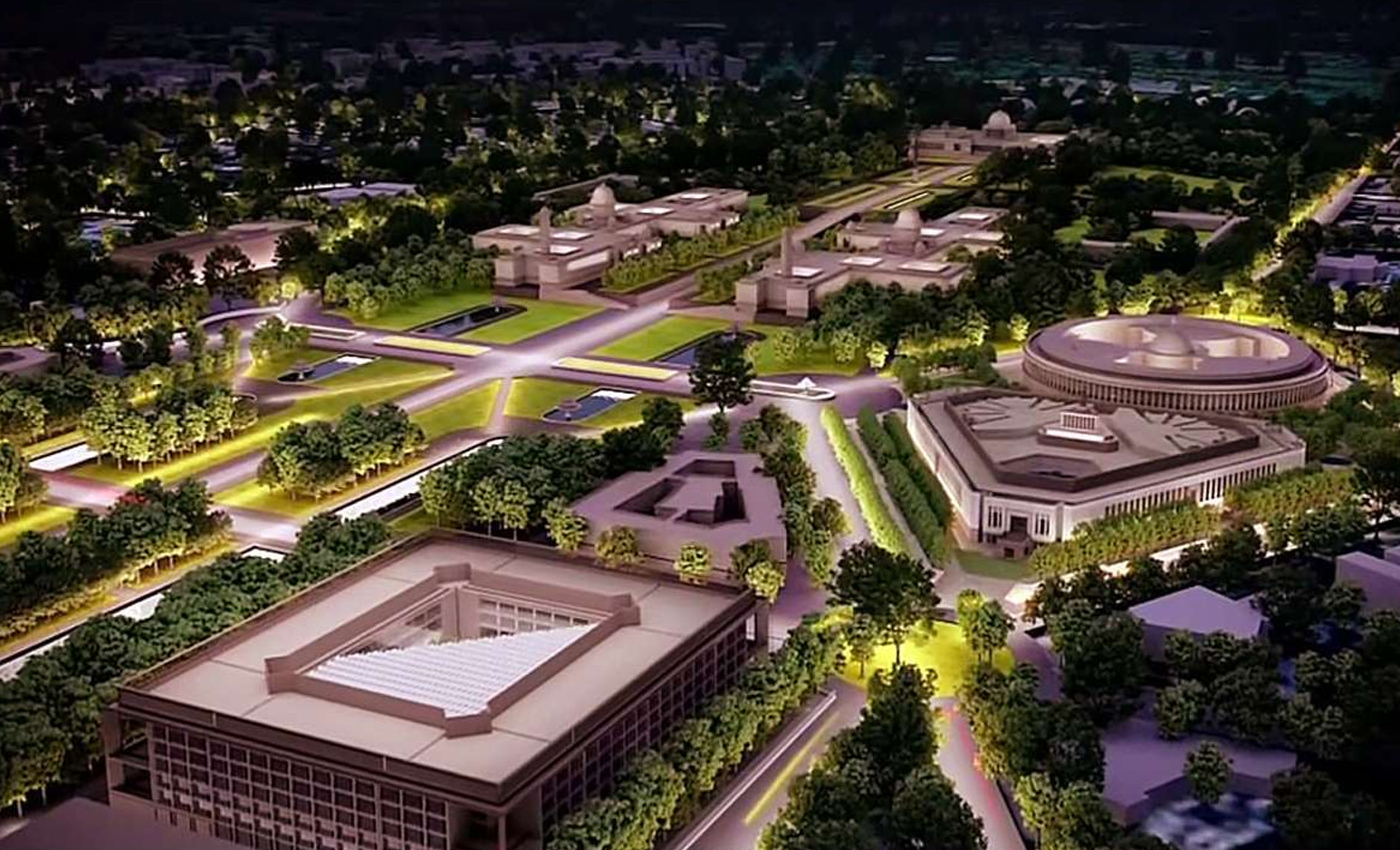 The Modi government is spending Rs 20,000 crore on the Central Vista Redevelopment Project.