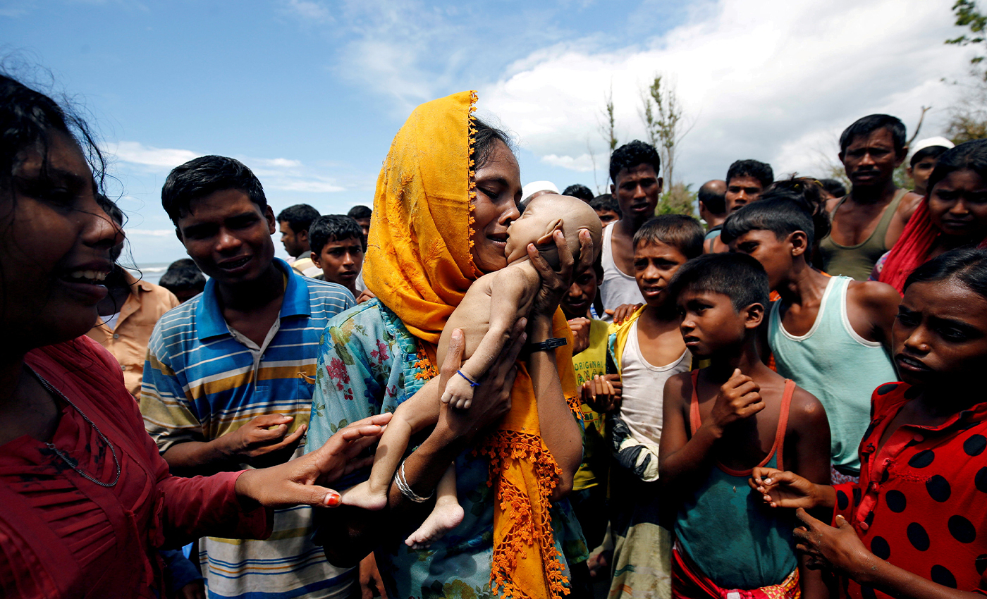 More than 15,000 Rohingya Muslims have been sent to detention centers in Kashmir.
