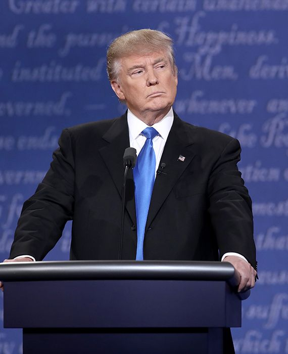 President Donald Trump said that the Democrats want open borders.