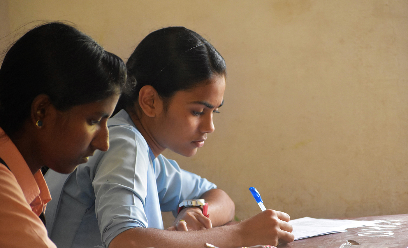 The Telangana government is considering to reopen schools and colleges.
