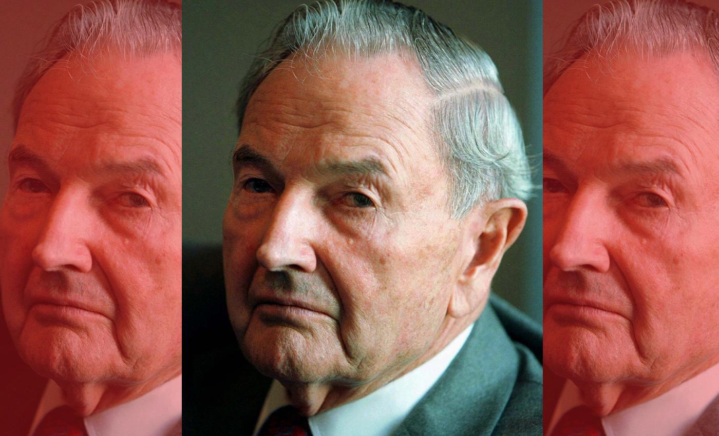 A billionaire grandson of John D Rockefeller received 7 heart transplants.