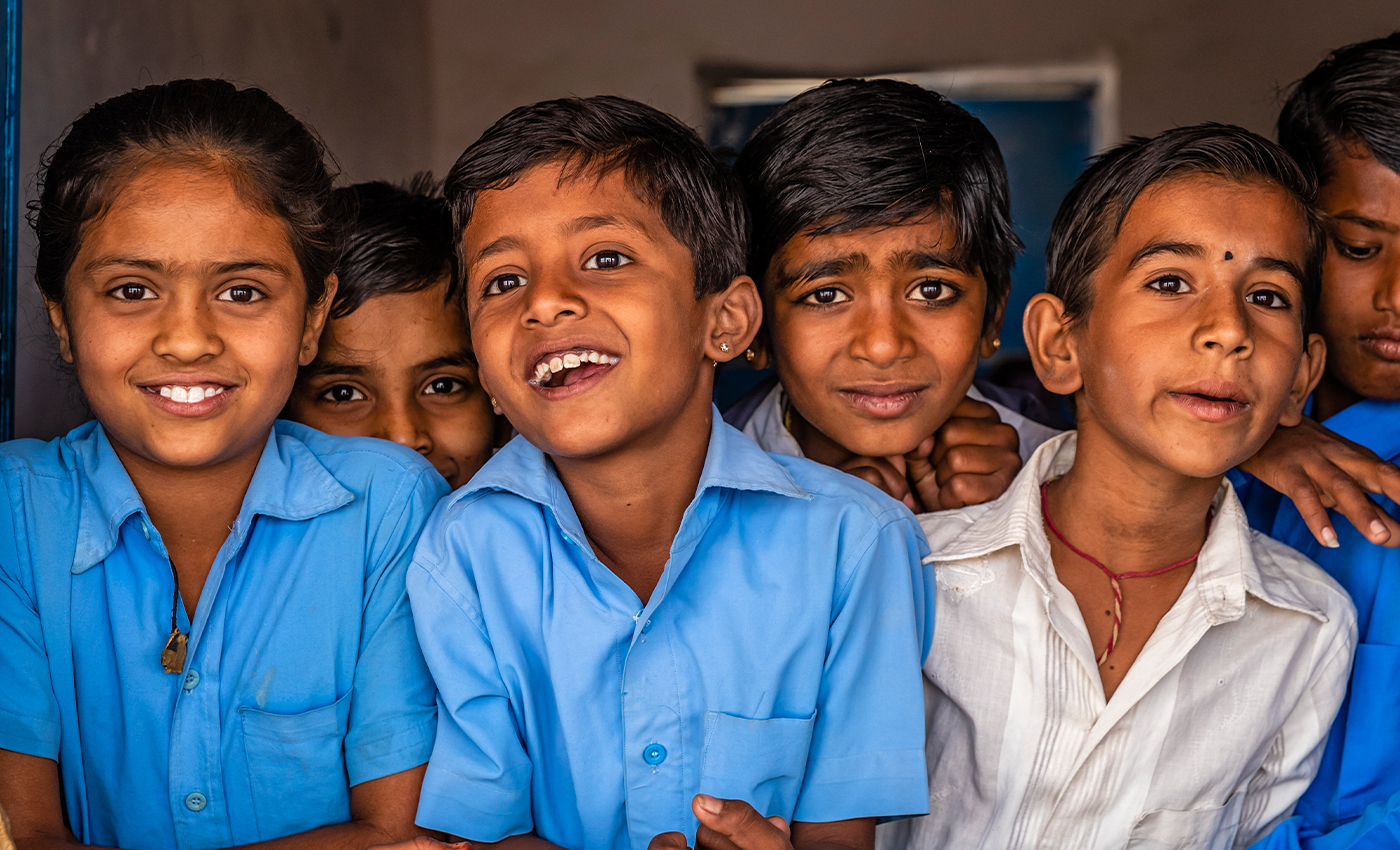 Teachers in India will only teach 50 percent of the syllabus this year.