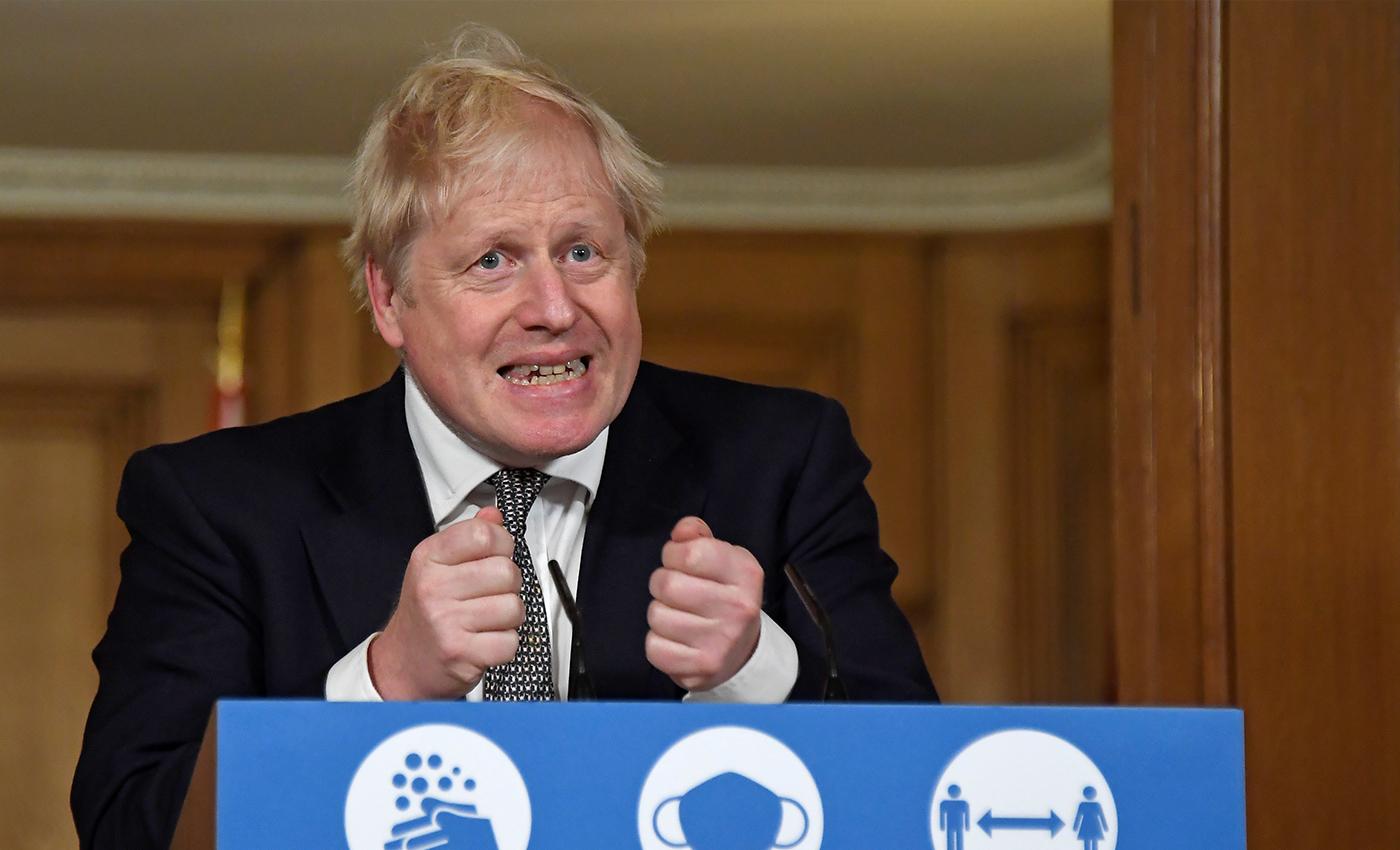 "Prime Minister Boris Johnson referred to COVID-19 as ""Kung flu."""