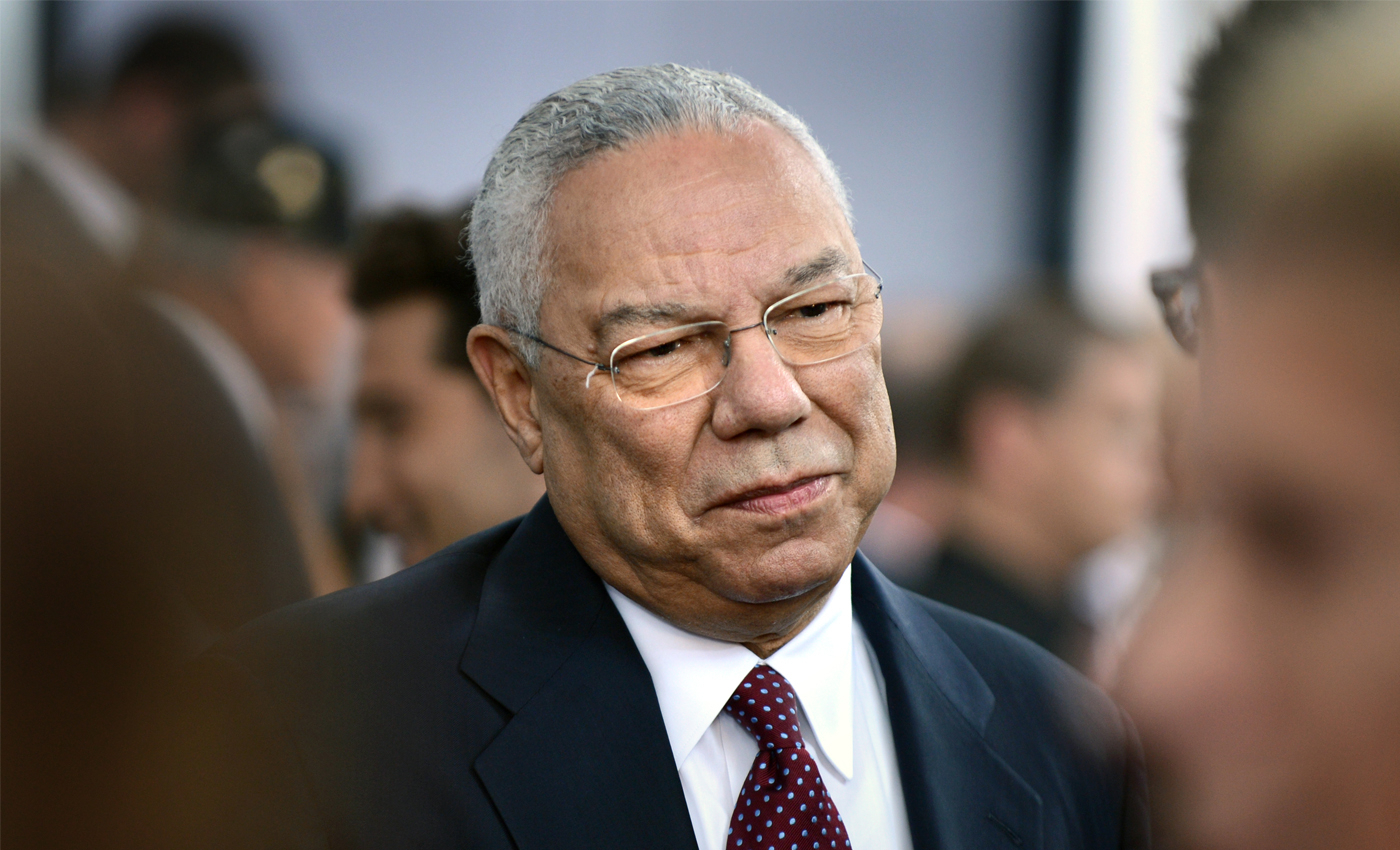 Colin Powell lied about Iraq having weapons of mass destruction.