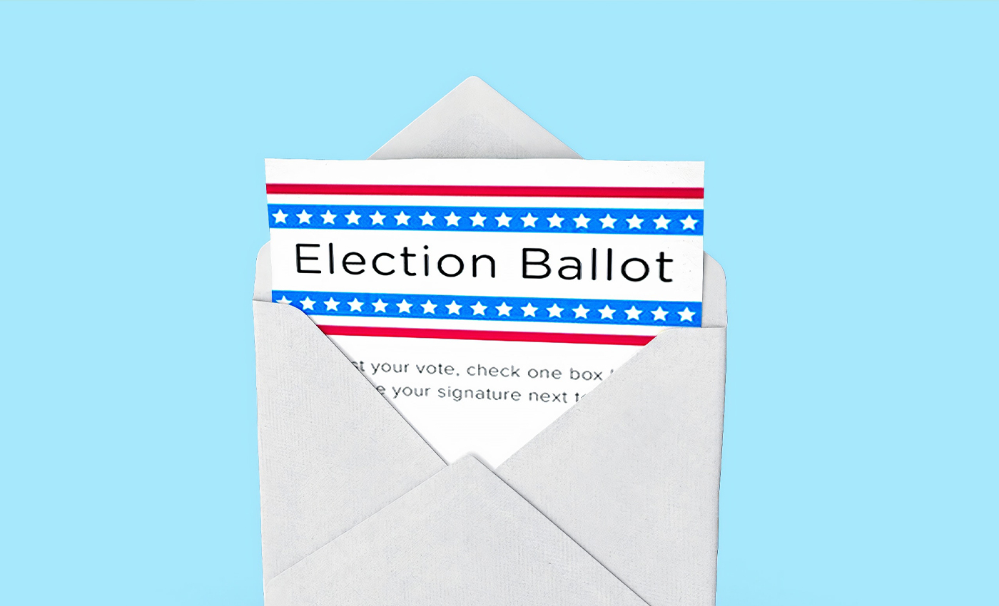 Joe Biden and Kamala Harris cheated in the 2020 elections with mail-in ballots.