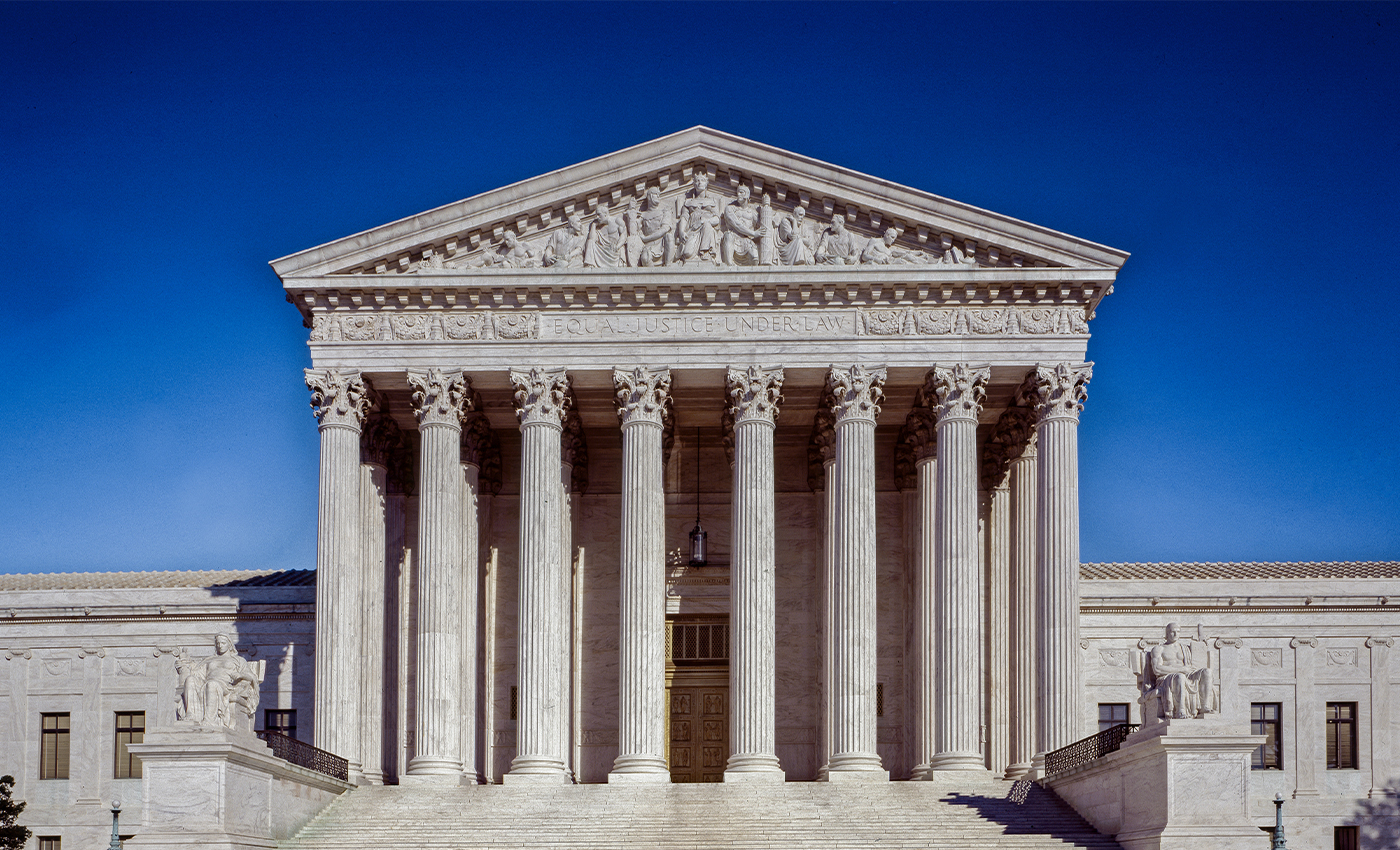 The conservative Supreme Court is trying to reverse same sex marriage.