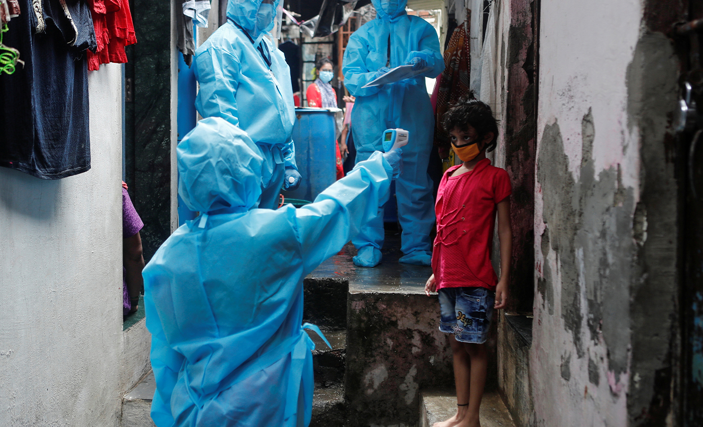 India has recorded its worst-ever single-day spike of about 75,995 coronavirus cases.