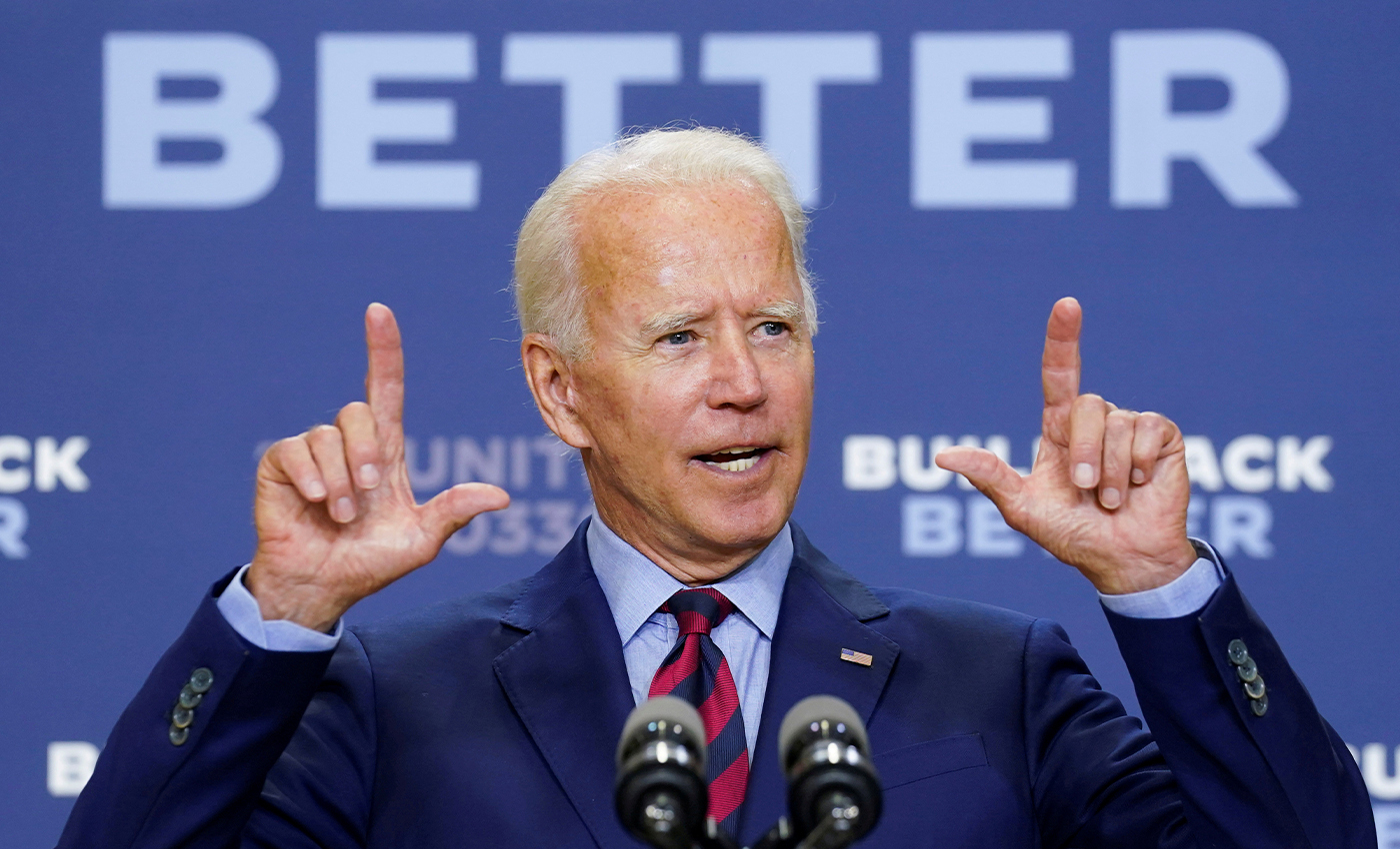 Joe Biden has a body double.
