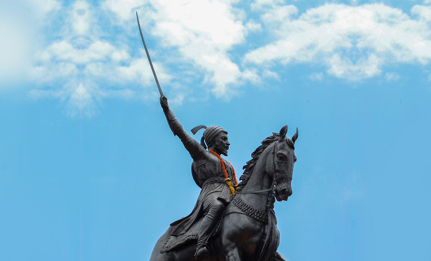 There is a statue of Shivaji in the United States.