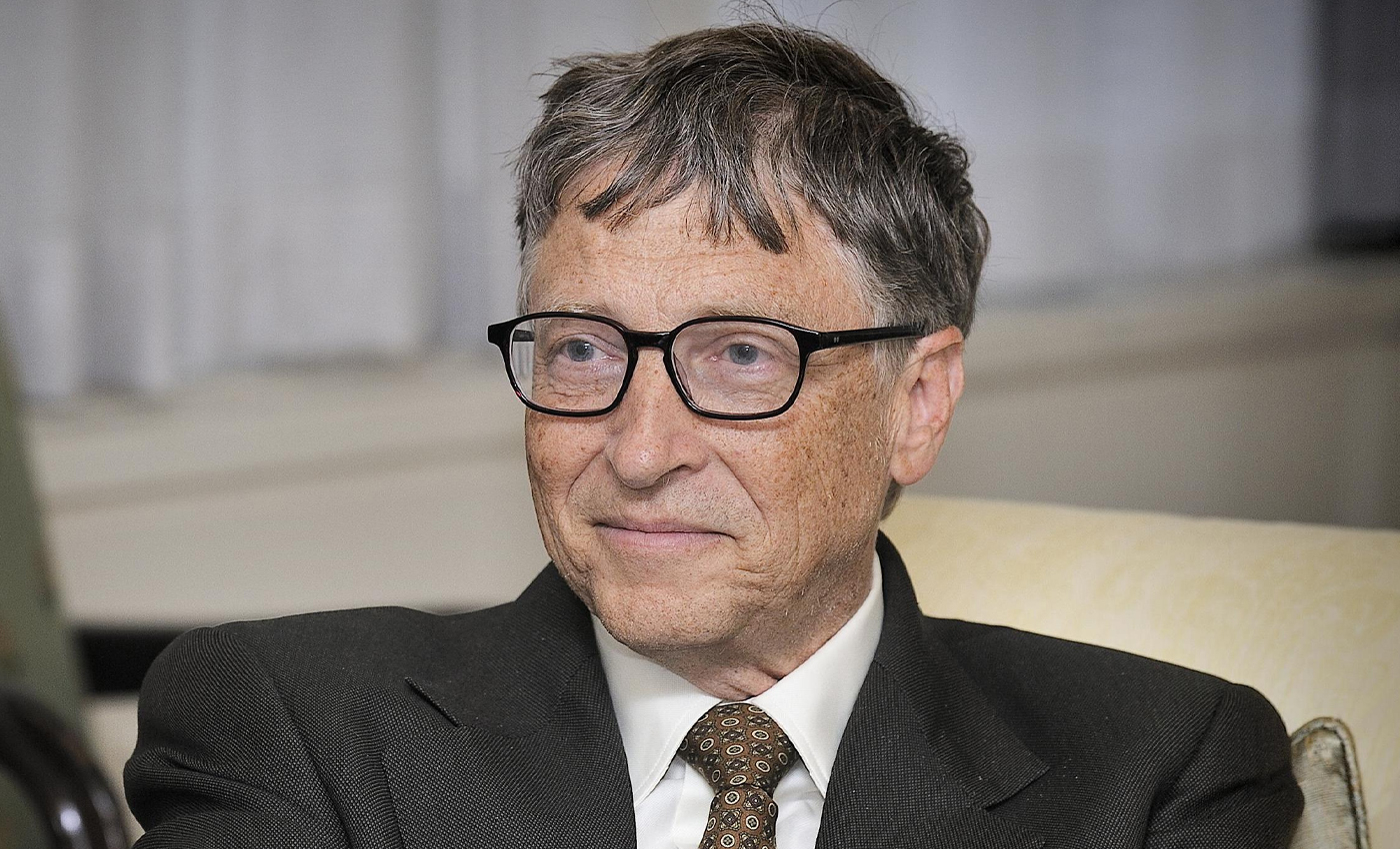 Bill Gates smiled after suggesting that unvaccinated people should be stripped of their Social Security.
