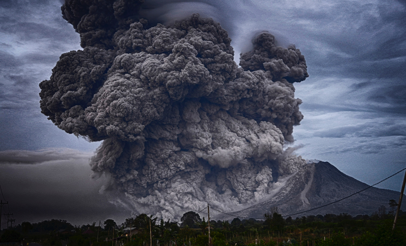 There were 54 volcanic eruptions across the world on March 20, 2021.