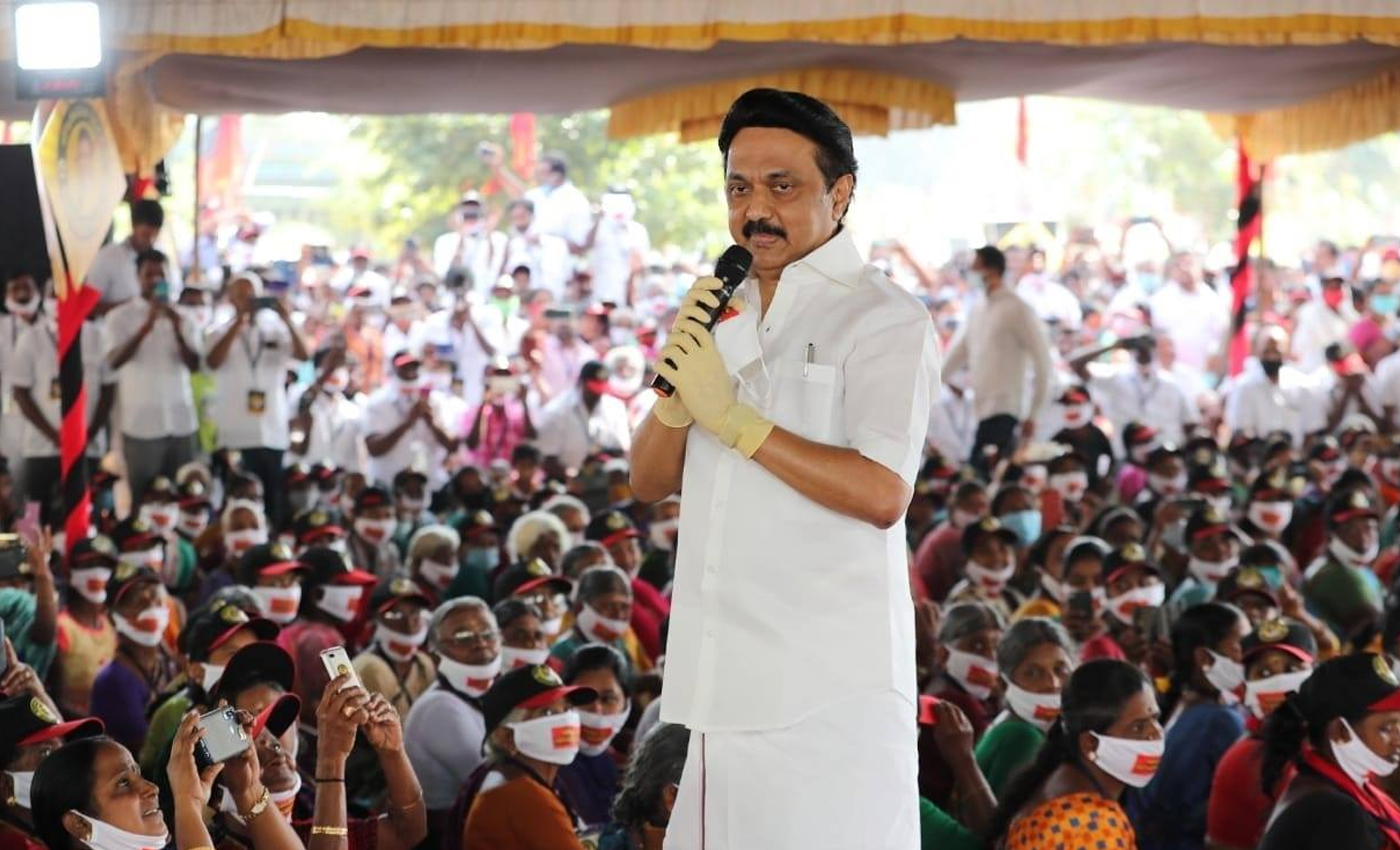 DMK hasn't won any election without allies since 1996