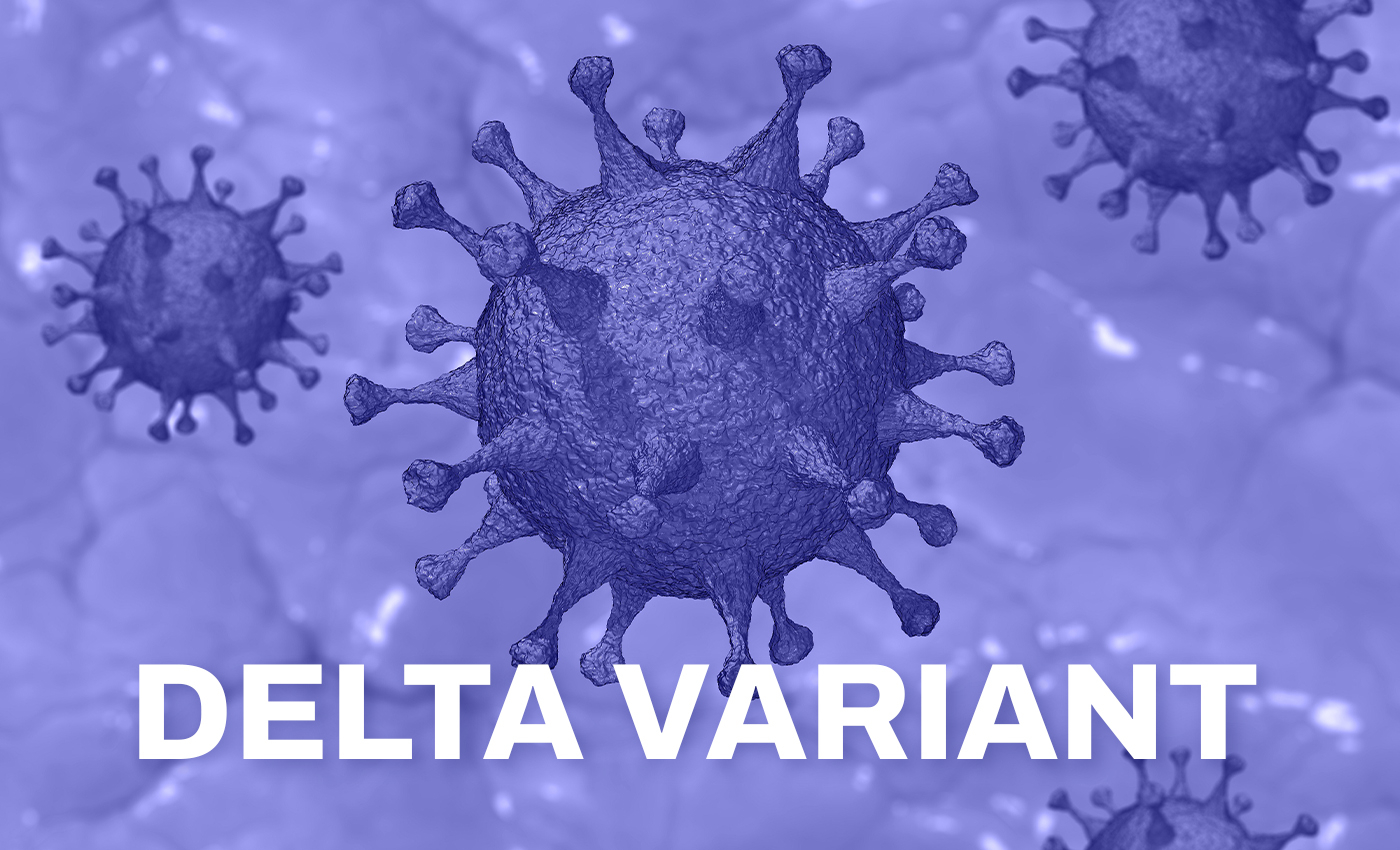 The Delta variant is 2.5 times more likely to lead to hospitalization than the Alpha variant.