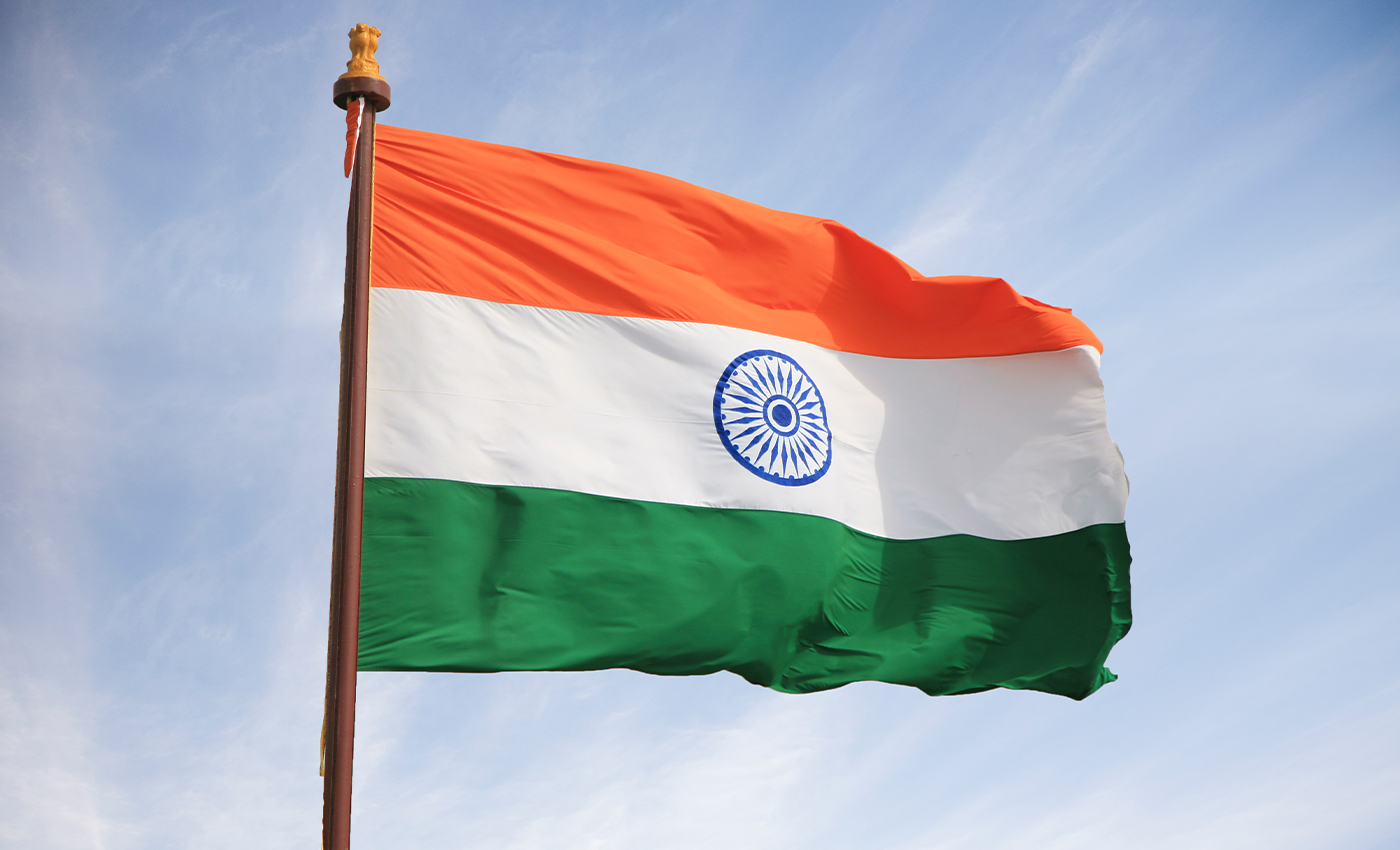 It was illegal to protest against the Indian government until 1947.