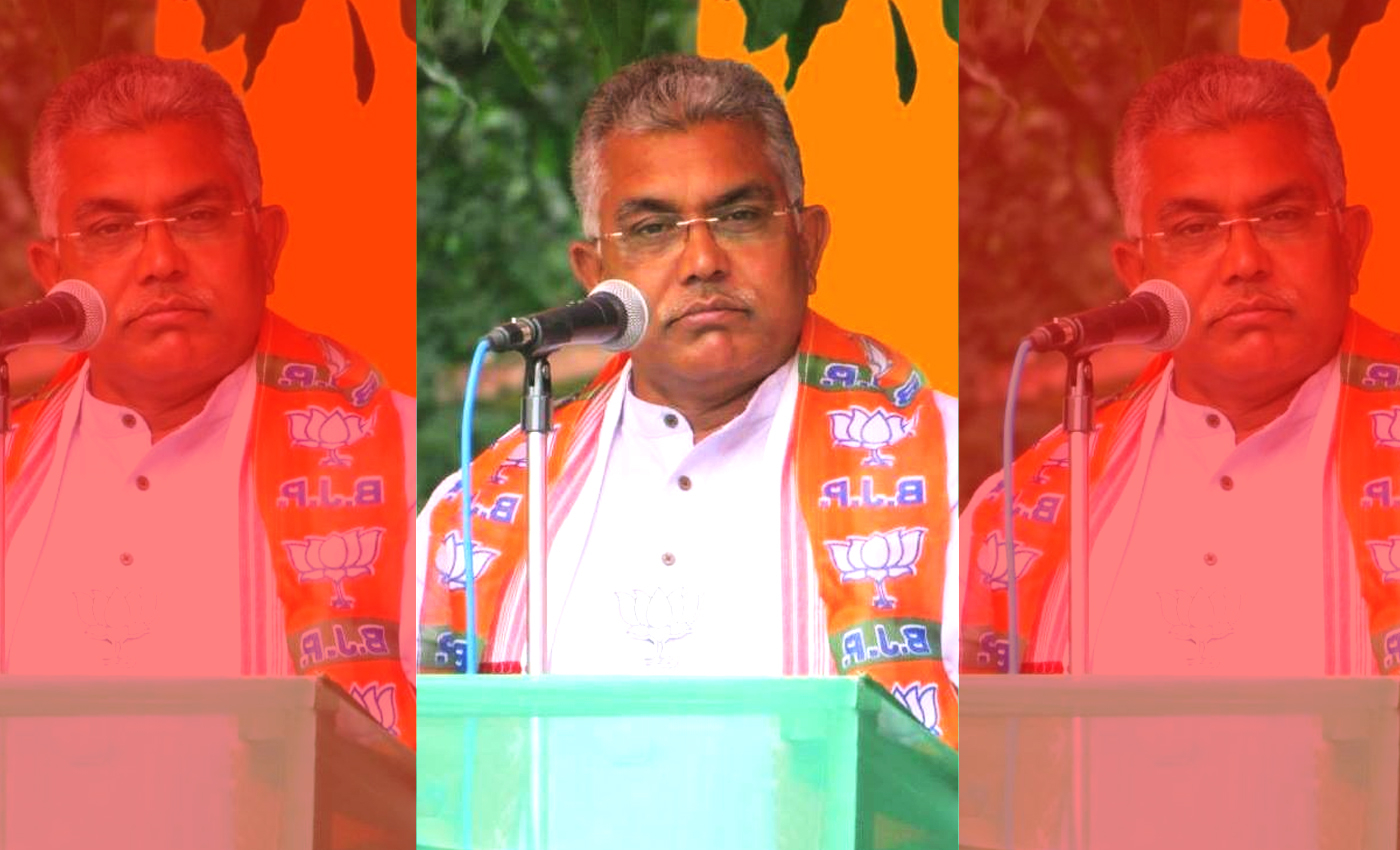BJP's Bengal chief Dilip Ghosh said that Mamata Banerjee would have to get back to cooking.