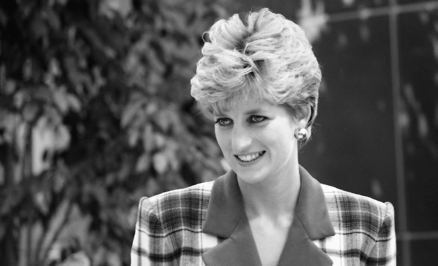 Prince Philip and Diana tracked down a rare stag on the grounds of Balmoral Castle.