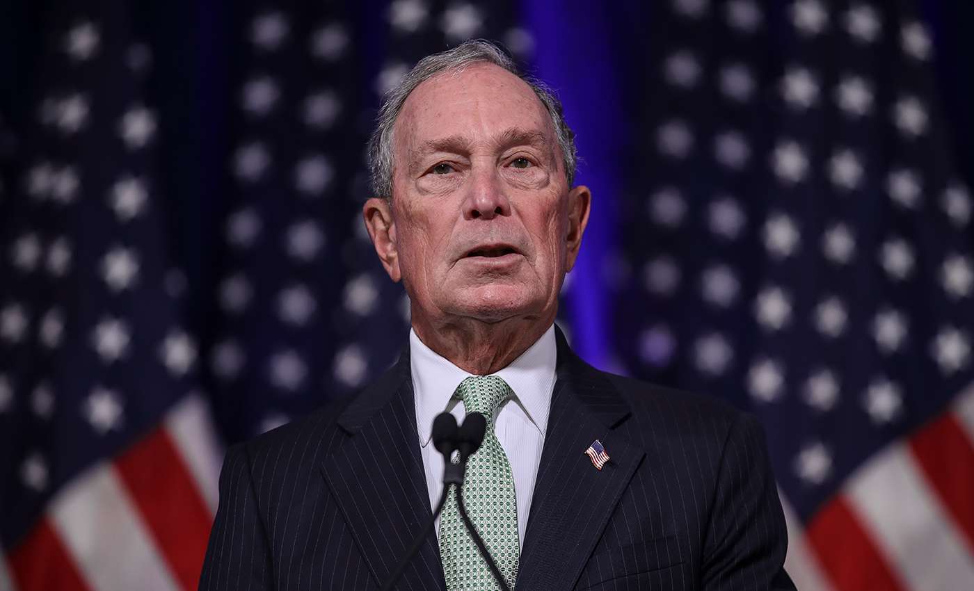 Michael Bloomberg has been a republican, an independent, and a democrat.
