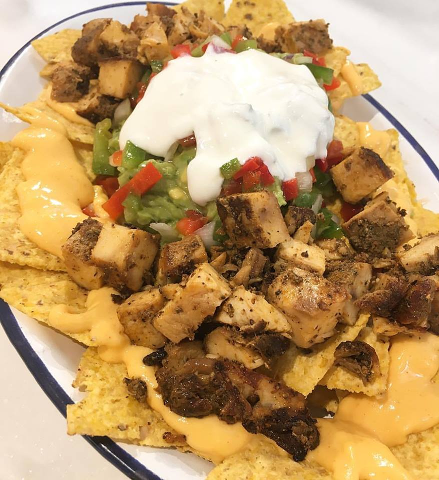 NACHOS WITH ALL