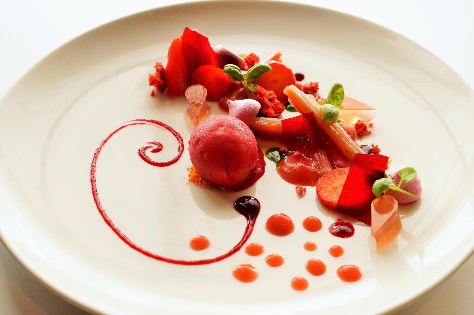 Textures of Strawberry